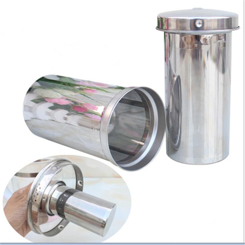 Tea Infuser Reusable Stainless Steel Cylinder Fine Mesh Tea Strainer Coffee & Tea Tools Loose Tea Leaf Filters