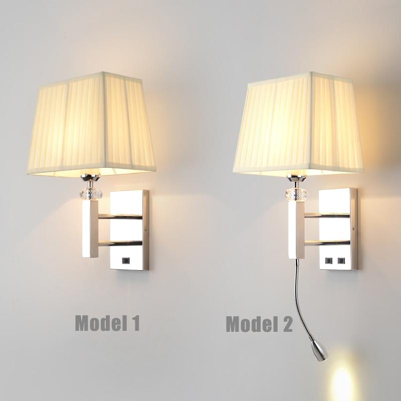 Zerouno Hotel Guestroom Wall Lamp Modern Minimalism E27 220V Bulb Living Room Bedroom Study Porch Night Night Lighting