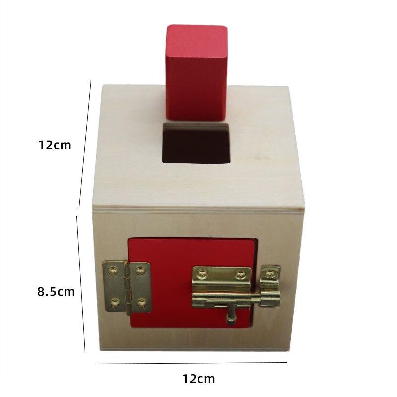 Kids Wooden Montessori Toys Memory Match Stick Educational Color Cognitive Geometric Shape Puzzles Toys For Children 25