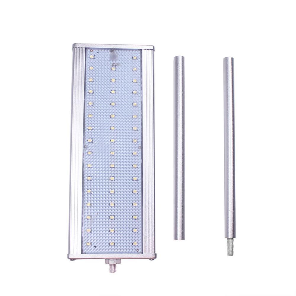 45W 8LED Microwave Radar Motion Sensor Solar Lamp Super Bright Highlight Waterproof Security Street Outdoor Wall Light