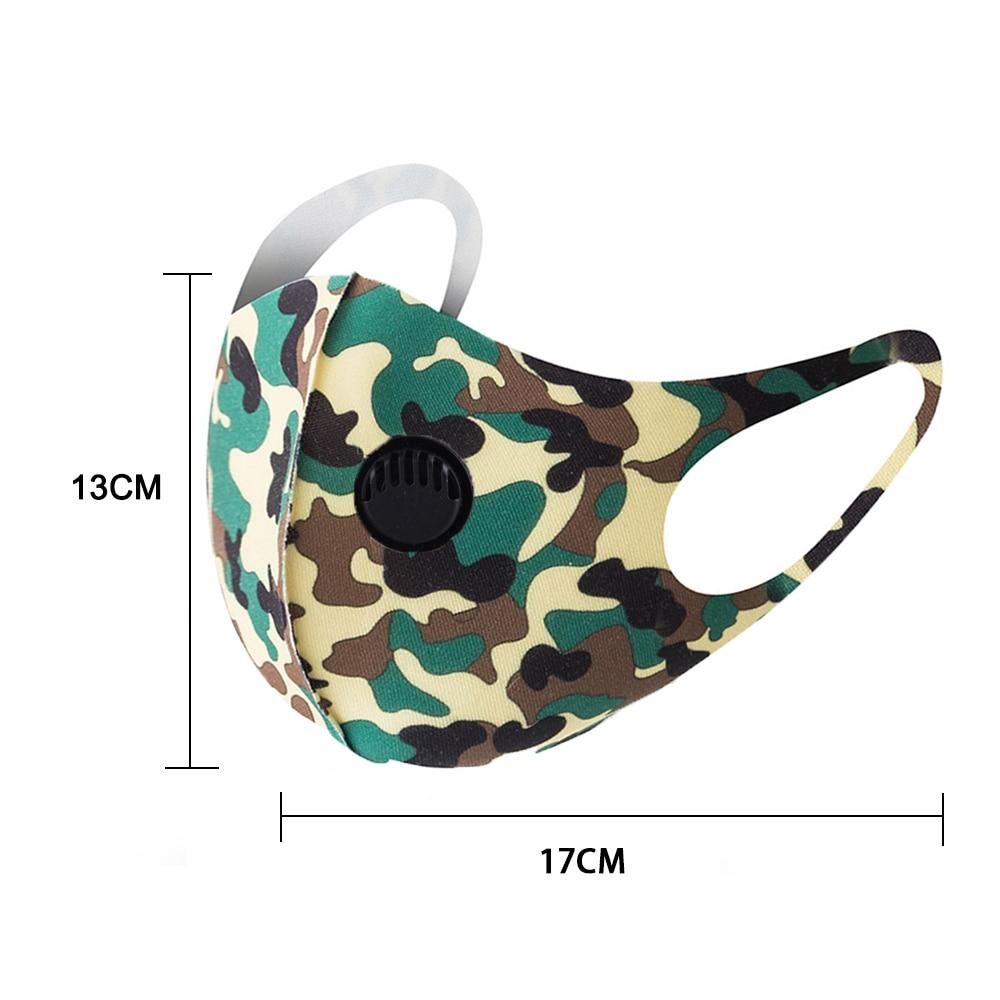 1pc maska za ustnice PM2.5 proti meglici črna maska - Orodja za nego kože - Fotografija 5