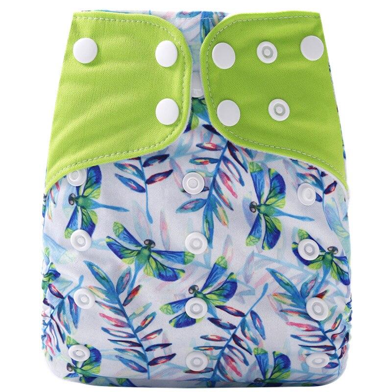 [Simfamily] 1 шт. многоразовые тканевые подгузники, регулируемые детские подгузники, моющиеся подгузники, подходят для 3-15 кг детские подгузники - Цвет: NO32