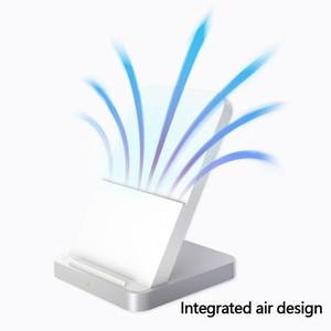 Image 4 - 원래 xiao mi 수직 공냉식 무선 충전기 30 w 최대 플래시 충전 xiao mi mi 9 pro 5g mi mi x 3 for iphone 11