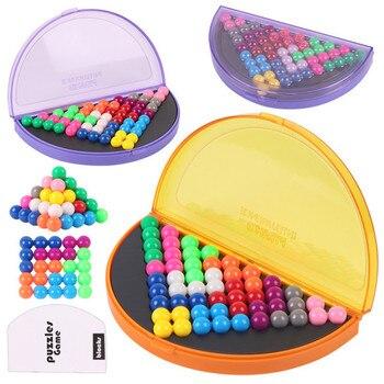 Logiczna gra umysłowa mądrość piramida płyta 178 wyzwania Puzzle IQ rozwój edukacyjne zabawki dla dzieci łamigłówka dla dzieci zabawki