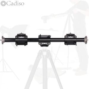 Image 1 - Cadiso Camera Boom Mount Extension Horizontal Tripod Cross Bar Arm Steeve Support Bracket Professional Tripod Vertical Shooting