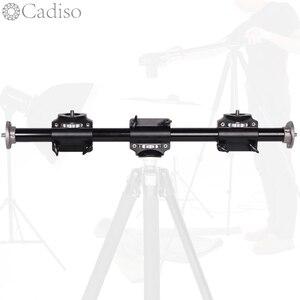 Image 1 - Cadiso Soporte de brazo para cámara, extensión de trípode Horizontal, barra de brazo cruzada, soporte profesional, Disparo Vertical