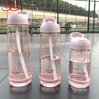 1000ml Outdoor Water Bottle with Straw Sports Bottles Eco-friendly with Lid Hiking Camping Plastic BPA sport water bottles protein shaker camping hiking drink bottle for water 560 800 1000ml bpa free plastic drinkware my bottle