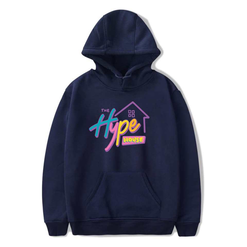 Hype House Hoodies Charli D'amelio Hooded Sweatshirts Women Men Tops Addison Rae Hoodies the hype house merch