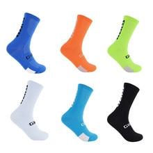 Chaussettes montantes pour hommes et femmes, pour cyclisme, basket-ball, course à pied, football, nouveauté 2021