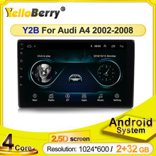 Navigation GPS Für Audi A4 2 3 B6 B7 2002 -2008 S4 RS4 Android Auto Radio Multimedia Video Player in Dash Wifi 2,5 D Screen BT SWC