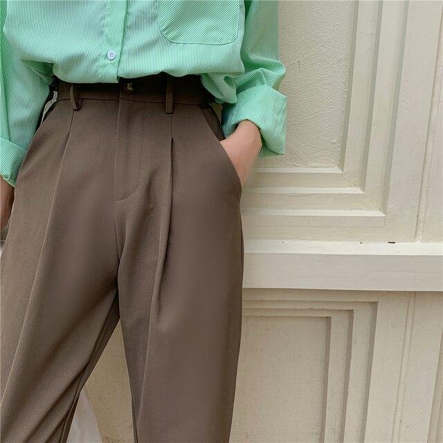 Elegant Formal High Waist Harem Straight Pants  6