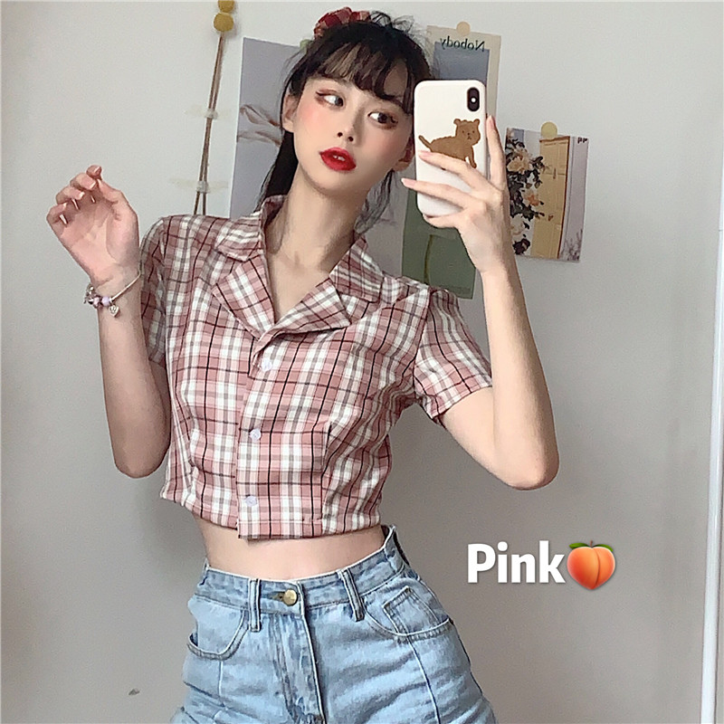 BlackPink T-Shirt Crop Top
