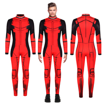 Deadpool Wade Winston Wilson Jumpsuit Cosplay Costume Bodysuit Zentai Suit Halloween