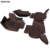 Car floor mats made for Honda Crosstour 5D heavy duty good foot case car styling carpet rugs leather liners (2010 now)