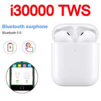 I30000 TWS bezprzewodowa słuchawka 1:1 replika Air 2 Pop Up słuchawki douszne sterowana dotykiem bezprzewodowe ładowanie PK I200 I500 I1000 I9000 I10000 TWS