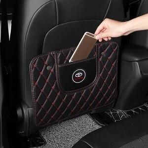 Image 5 - 1 stücke Auto Anti Kick Pad Sitz Zurück Kissen Anti Schmutzig Pad für Toyota Prius Avensis Rav4 Auris yaris Verso Land Cruiser Camry Highl