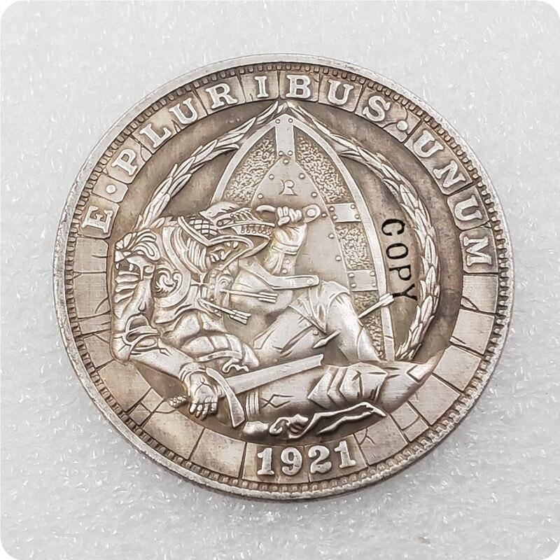 Тип № 37 _ Хобо никелевая монета 1921-P моргановский доллар