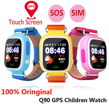Смарт-часы Q90, Детские Смарт-часы с Gps, Wi-Fi, сенсорным экраном, кнопкой SOS, определителем местоположения, монитором для защиты от потери, pk Q50 Q100
