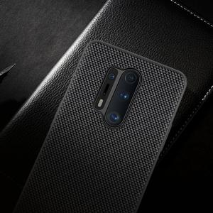 Image 4 - for oneplus 8 pro Case Cover NILLKIN textured pattern matte hard soft back cover Mobile phone black shell for oneplus 8 pro