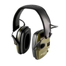 Anti-ruído impacto protetor de orelha tiro eletrônico earmuff caça redutor de ruído proteção auditiva fone de ouvido