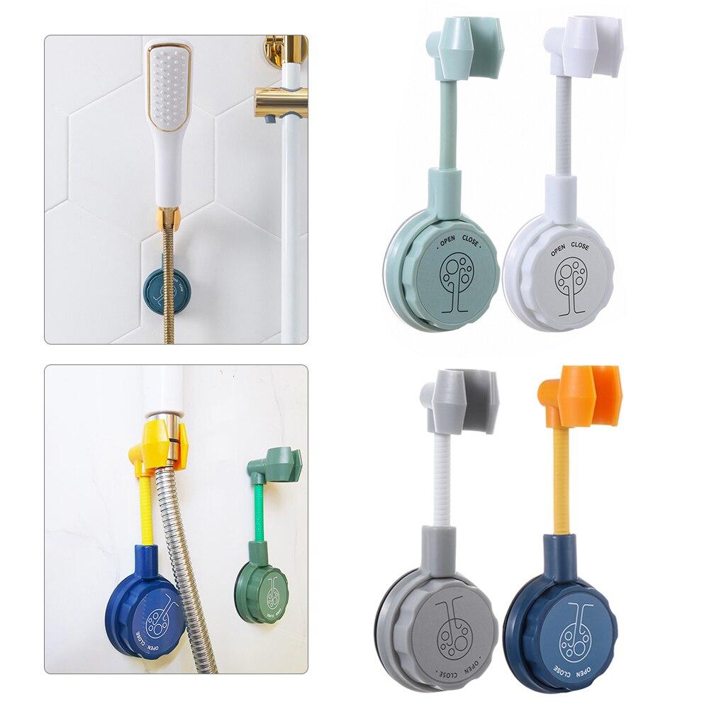 Новый универсальный держатель на присоске Регулируемый на 360 ° держатель для ручного душа держатель для насадки душа кронштейн для ванной н...