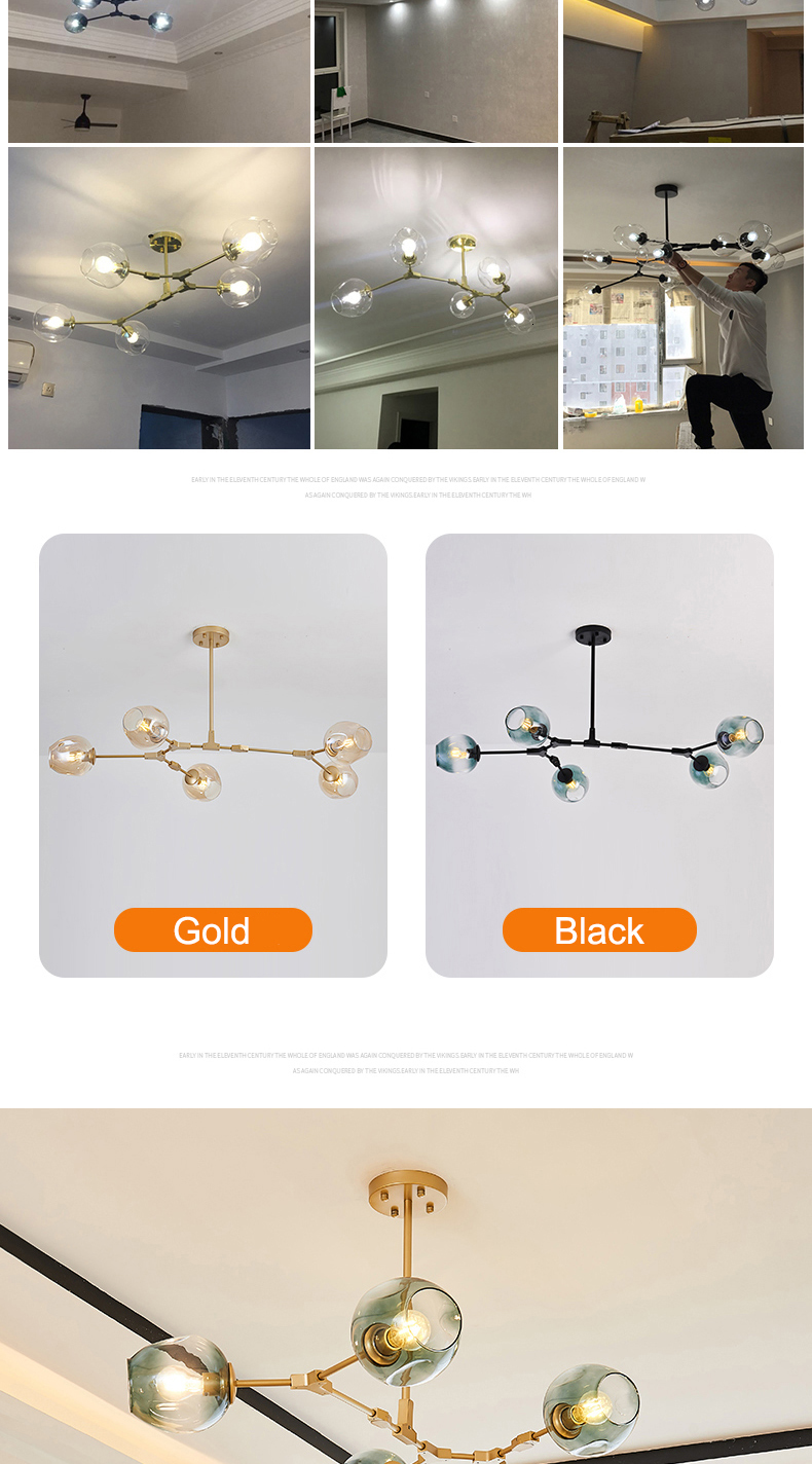 Hbc0de710942a4b24b1f2ba005eee530dh MDWELL Nordic lamp Ceiling Lights for living room lights Retro Loft vintage Hanging Suspension luminaire led light ceiling Lamp