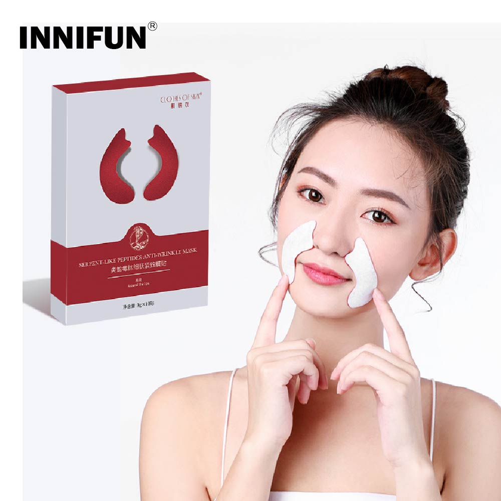 5Pcs Face Paste Anti Wrinkle Patch Face Chip Nasolabial Sticker Beauty Skin Tighting Anti Aging Skin Care Tool image