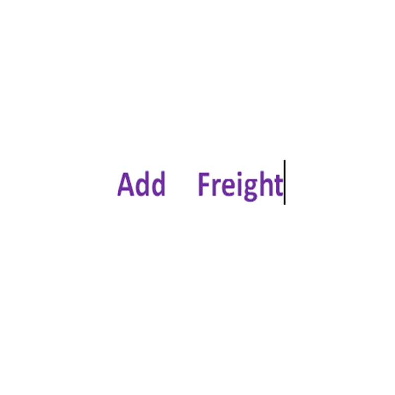 Little Freight Make Big Differences ,It is invalid to buy this alone,Check with customer service before buying