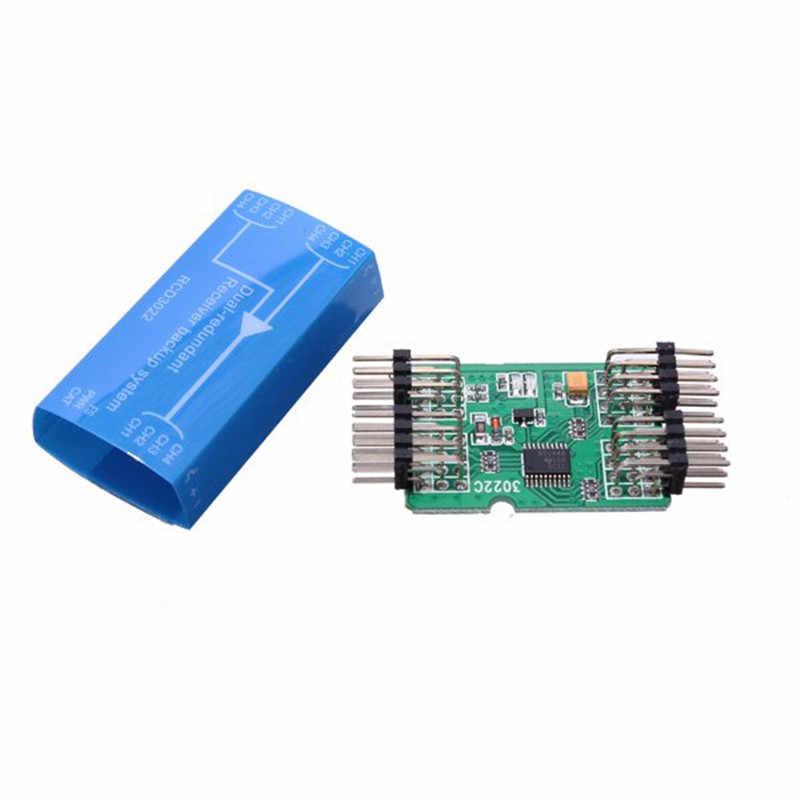 ホット販売 RCD3022 デュアル冗長受信機バックアップシステムの rc 飛行機ホットおもちゃ