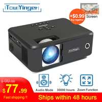 Touyinger X20 Brand Mini projector LED full hd 1080P video beamer portable home theater cinema LCD TV Smart 3D movie projector