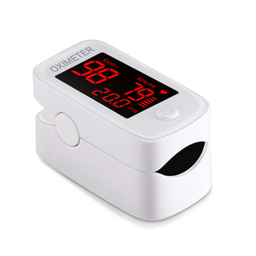 Digital Fingertip Pulse Oximeter LED Display Blood Oxygen LED Oximetro Blood Oxygen Heart Rate Monitor SpO2 Oximetro De Dedo