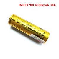 Vapcell-Batería de iones de litio con fallo de 21700, 4000mah, 30A, 3,7 V, célula de baterías recargables para linterna, herramientas eléctricas, envío gratis