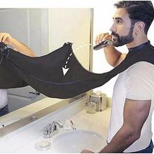Beard Apron Razor-Holder Cleaning-Protector Hair-Shave Floral-Cloth Male Waterproof Household