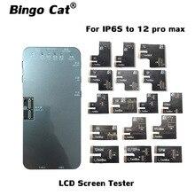 Ekran LCD S200 oryginalny programator kolorów światłoczuły moduł naprawczy do X XS 12 mini 11Pro Max 7 8 True Tone Touch naprawa