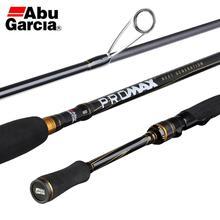 2019 Abu wiko PRO MAX PMAX Baitcasting canna da pesca Carbon M MH ML potenza azione rapida attrezzatura da pesca in acqua salata 1.98m 2.13M 2.44M