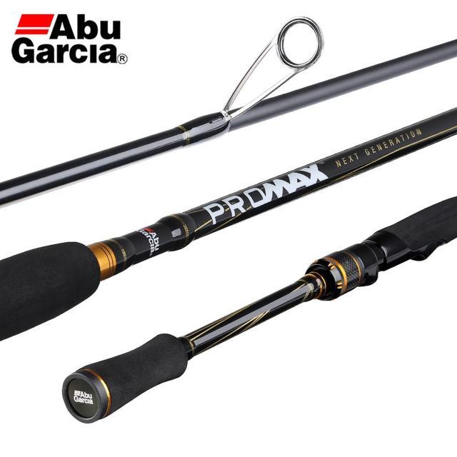 2019 abu garcia pro max pmax baitcasting vara de pesca carbono m mh ml potência ação rápida água salgada pesca tackle1.98m 2.13m 2.44
