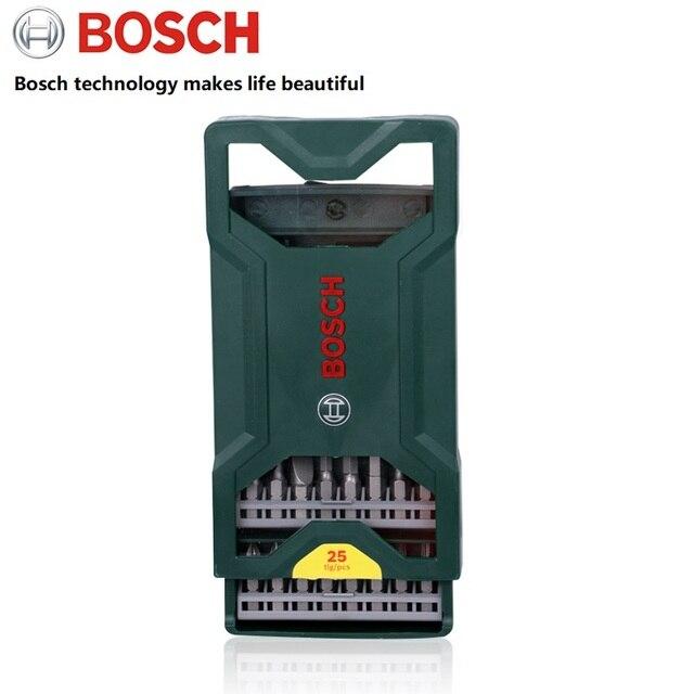 オリジナル bosch 行く 2 電動ドライバービットセットワイヤレス電源ドリルビットセット 25 個ボッシュ Go2 ホーム diy ドリルビット