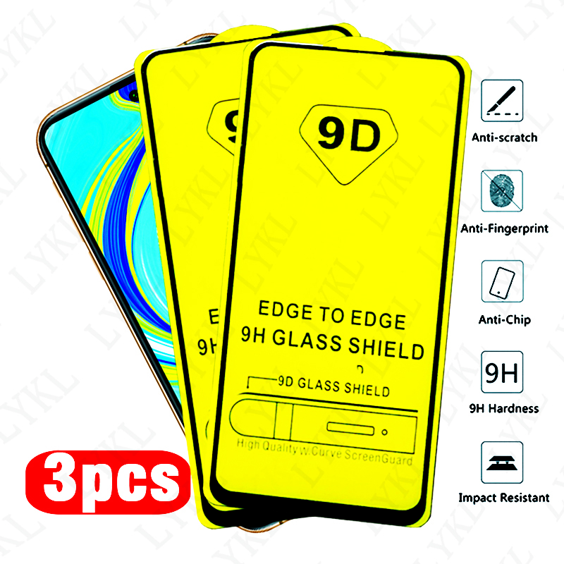 Full Cover Tempered Glass For <font><b>Xiaomi</b></font> Redmi Note 9 8 7 Pro 9S 8T <font><b>Screen</b></font> <font><b>Protector</b></font> For Redmi 8A 8 7 7A 9 9A Camare Protective Film image