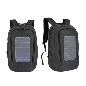 Solar Backpack Men and Women Charging Casual Outdoor Bag USB Charger Emergency Backpack 2