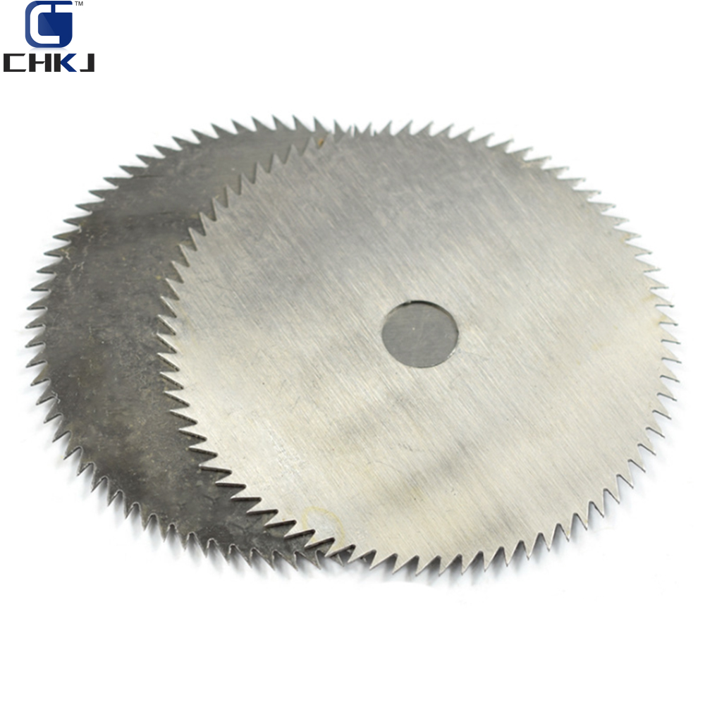 CHKJ 4 Inch Ultra Thin Steel Circular Saw Blade 100mm Bore Diameter 16/20mm Wheel Cutting Disc For Woodworking Rotary Tool