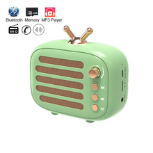 Bluetooth Portable Speaker Mini Wireless FM Radio MP3 Music Speakers PC 1800mAH 32GB TF BT Phone Home Outdoor Speaker Sound box цена и фото