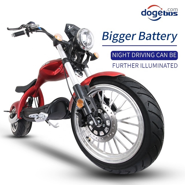 New Modal High Speed Citycoco 2000W Electric Motorcycle 60V 20AH 12inch Power Scooters Motorcycles Electric Adult E Scooter 5