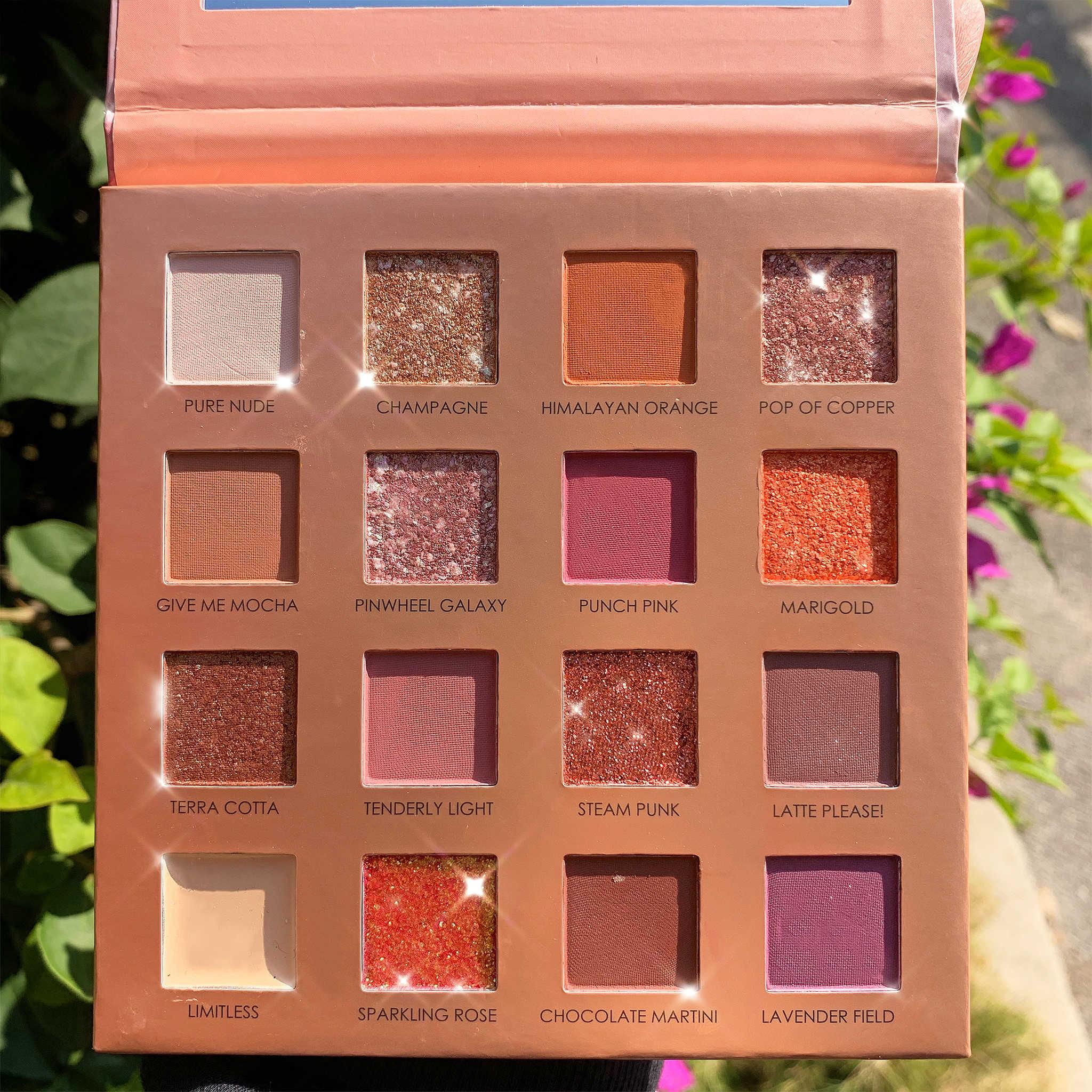 FOCALLURE ใหม่ Sunrise Eye Shadow Palette Glitter Matte Pigment อายแชโดว์หลวมแป้งคุณภาพสูงอายแชโดว์