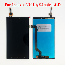 Original LCD Lenovo A7010 LCD Screen Display with frame Touch Panel Digitizer Assembly Repalcement Parts Lenovo K4 Note LCD original 1024 768 onyx boox c63ml reader daily edition display with backlight ebookreader lcd panel touch digitizer