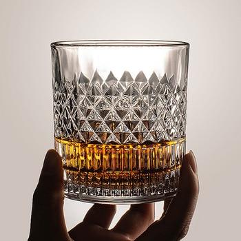 Glass Transparent Whiskey Glass Home Creative Liquor Spirits Wine Glass Beer Glass