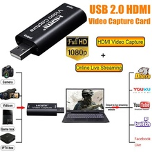 ezcap 272 anolog video recorder av capture analog to digital video recorder audio video input av hdmi output to micro sd tf card 2020 New Audio Video Capture Cards 1080P USB2.0 HDMI to USB Recorder for Gaming Meeting Recording