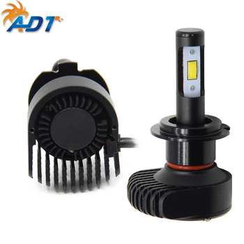 A80 H7 Auto LED Headlight 6000LM 6000K IP65 12V Fog Light 9005 9006 H4 H8 Driving LED headlight with cooling fan Long life