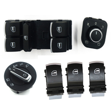 6PCS Window Mirror Headlight Switch for V W J etta 6 Golf GTI 5 6  Tiguan Passat B6 CC 5ND959857 5ND941431B  5ND 959 565A 4x 0280158026 06a906031bs 852 12220 fj670 fuel injector for volkswagen beetle golf golf city j etta j etta city 2 0l l4