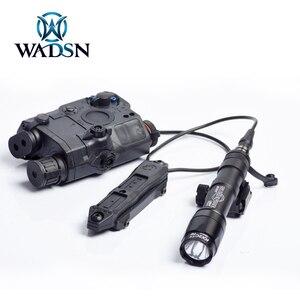Image 5 - WADSNยุทธวิธีDualฟังก์ชั่นหางความดันปุ่มสวิทช์สำหรับPEQ15 16 DBAL A2เลเซอร์Airsoft Armas M300 M600ไฟ