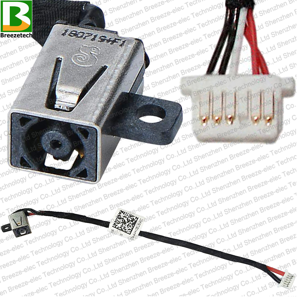 DC Power Jack Socket Cable Connector harness for <font><b>Dell</b></font> Inspiron 11 3000 3147 3135 3137 3138 3152 3153 5157 3158 0JCDW3 JCDW3 <font><b>P20T</b></font> image